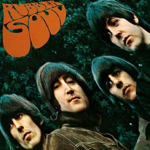 Beatles Rubber Soul LP cover metal wall sign   (ro)