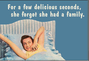 For A Few Delicious Seconds... funny fridge magnet