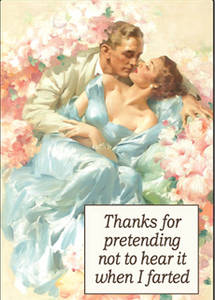 Thanks For Pretending Not To Hear.. funny fridge magnet  (ep)