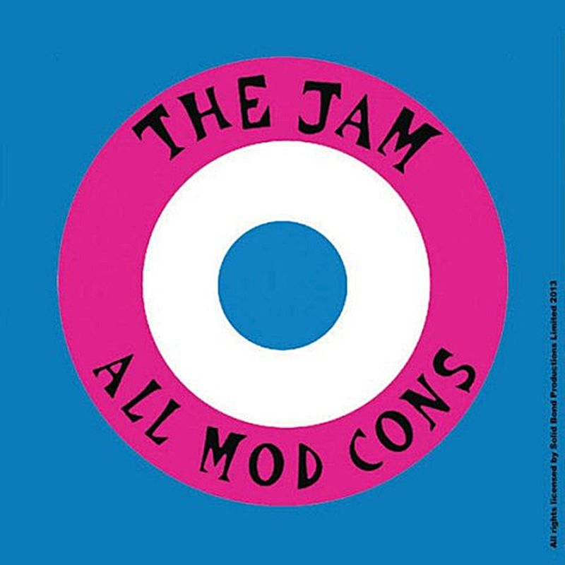 The Jam All Mod Cons Drinks Mat Coaster Ro