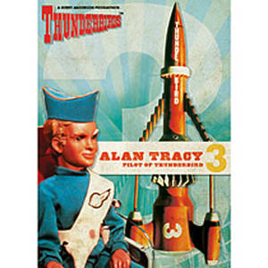 Thunderbirds Alan fridge magnet