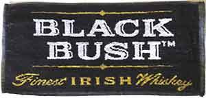 Black Bush Whiskey Bar Towel