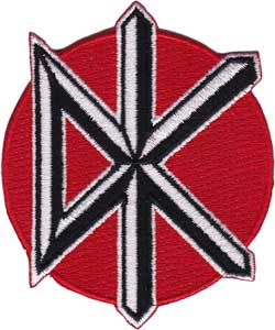 Dead Kennedys Icon iron-on / sew-on patch  (cv)