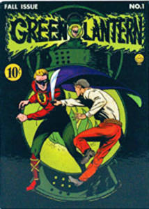 Green Lantern cover fridge magnet