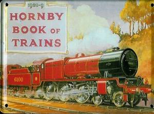 Hornby 1928-29 metal postcard / mini sign / fridge magnet