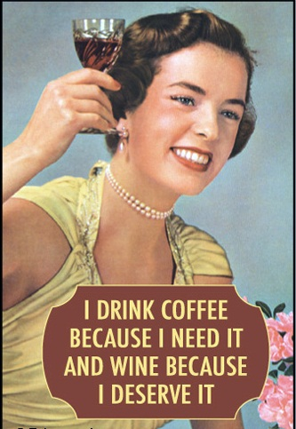 I Drink Coffee Because I Need It And Fridge Magnet Ep