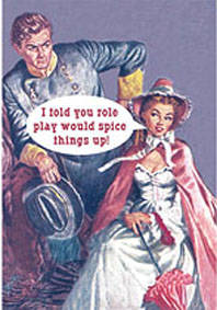 I Told You Role Play funny fridge magnet  HALF PRICE TO CLEAR!!