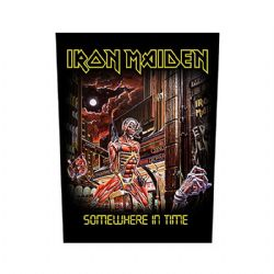 Iron Maiden Fear Of The Dark  giant sew-on backpatch 360 mm x 300 mm rz