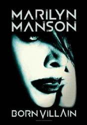 hr Marilyn Manson Double Cross Large Fabric Poster//Flag 1050mm x 750mm