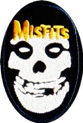 cv Misfits set of two iron-on//sew-on cloth patches