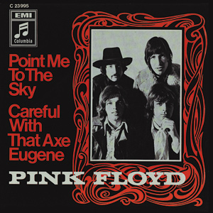 Pink Floyd Point Me To The Sky square steel fridge magnet (Cd)